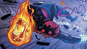 Space Ghost Rider Panel Close Up
