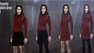Star Trek: Discovery- Season 2 Enterprise Uniform Sneak Peek