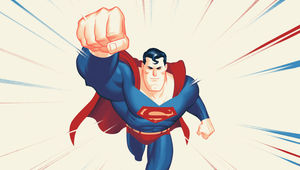 Superman The Animated Soundtrack by Mondo