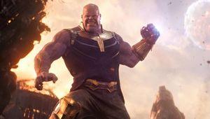 Thanos Throwing Moon