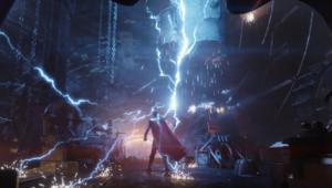 Thor lightning, Avengers: Infinity War
