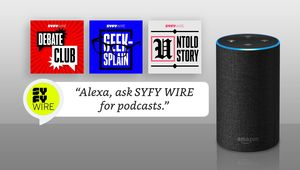 SYFY WIRE Podcasts add skill for Amazon Alexa
