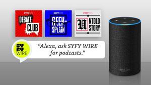 SYFY WIRE Podcasts add skill for Amazon Alexa