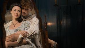 Outlander Season 4- Claire and Jamie (Caitriona Balfe and Sam Heughan)