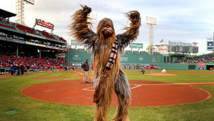 Chewbacca Red Sox