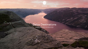 Westworld- Delos Destinations website
