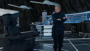 Black Panther- Everett Ross (Martin Freeman) in Shuri's lab
