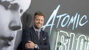 David Leitch at the premiere of Atomic Blonde
