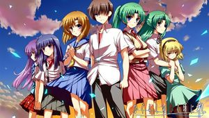 Higurashi - Main Cast