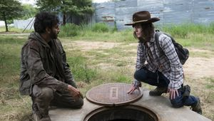 Nash and Riggs on TWD