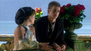Star Wars: Attack of the Clones, Anakin doesn't like sand but he likes Padme