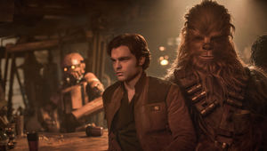 SOLO A Star Wars Story Han and Chewie