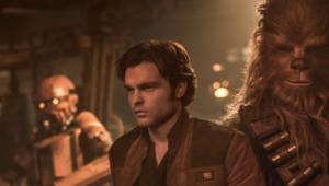 Solo and Chewie