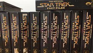 Star Trek Fact Files Binders