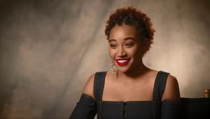 The Darkest Minds Amandla Stenberg SYFY WIRE Interview Screengrab