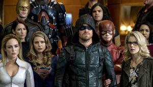 Arrowverse Crisis On Earth X Teams
