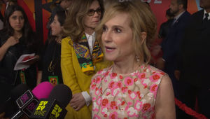 Holly Hunter at the Incredibles 2 premiere