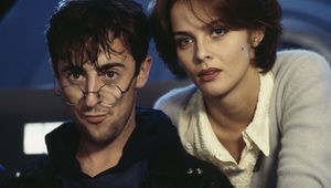 Izabella Scorupco and Alan Cumming in GoldenEye