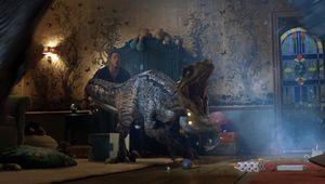 Jurassic World Fallen Kingdom Blue attack hero