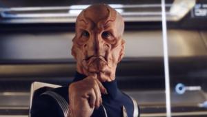 Saru from Star Trek: Discovery