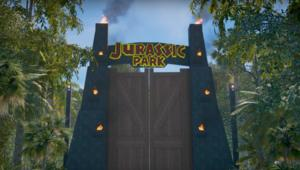 Jurassic Park Far Cry map in Halo 5