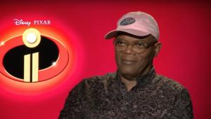 Sam Jackson in Incredibles 2