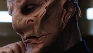 Doug Jones as Saru on Star Trek: Discovery