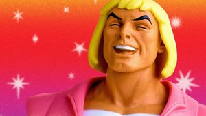 Laughing Prince Adam head