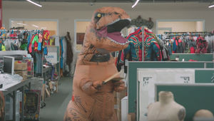 The Inflatable T-Rex Costume The Untold Story