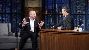 Tom King Late Night with Seth Meyers