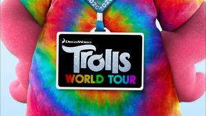Trolls World Tour title treatment