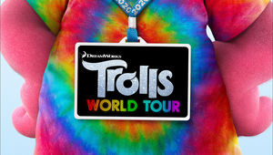 Trolls World Tour title treatment