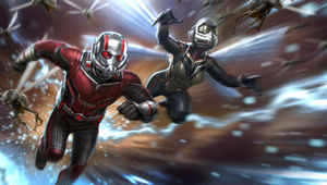 antman wasp hero