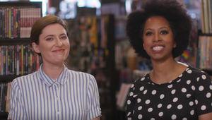 Comic-Con TV News Jackie Jennings and Karama Horne