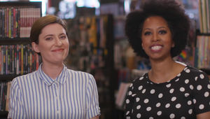 Comic-Con TV News Jackie Jennings and Karama Horne
