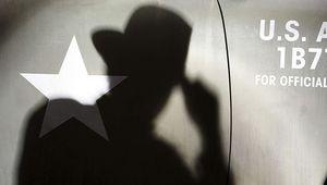 Indiana Jones silhouette hero
