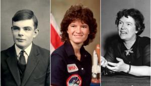 LGBTSTEM, Alan Turing Sally Ride Margaret Mead