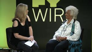 Nichelle Nichols SYFY WIRE Interview Screengrab SDCC 2018