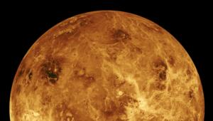 NASA image of Venus