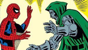 Steve Ditko Spider-Man Doctor Doom hero