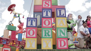 Toy Story Land Sign
