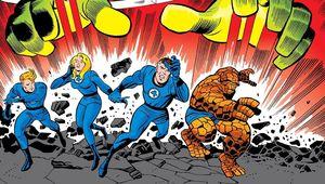 Fantastic Four comics hero