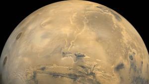 NASA image of Mars