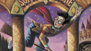 Harry Potter and the Sorcerer's Stone original book cover