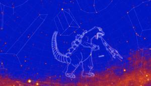 NASA Fermi Constellation GODZILLA