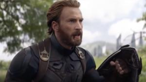 Captain America in Infinity War