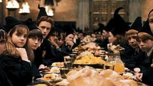 Harry Potter dinner scene hero