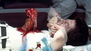 John Hurt Alien chestburster scene