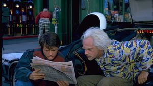 Back to the Future Part II Michael J. Fox Christopher Lloyd