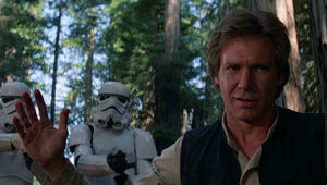 Han Solo Star Wars Return of the Jedi Harrison Ford
